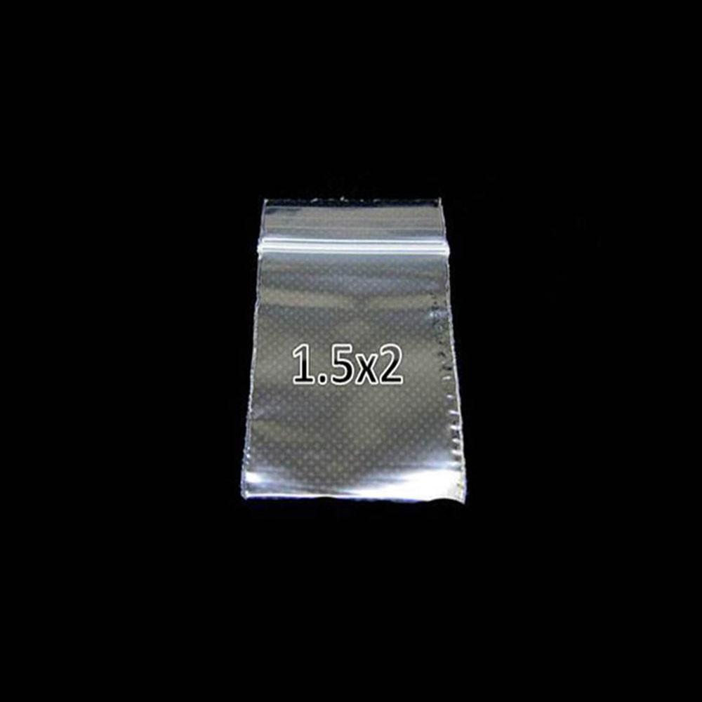 Plastic ZipLock Bag 1.5X2 Clear