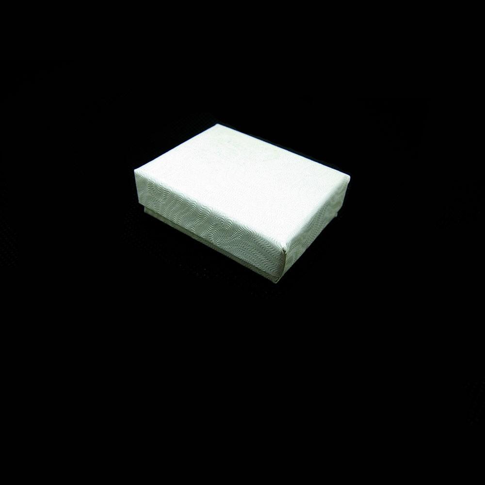 White Cotton Filled Box