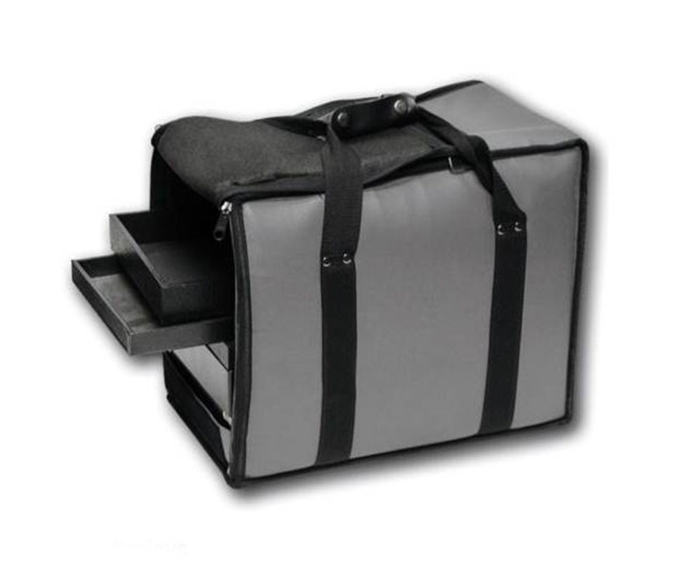 Fabric Soft Carry Case, Grey