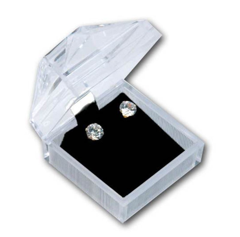 Crystal Clear Earring Box