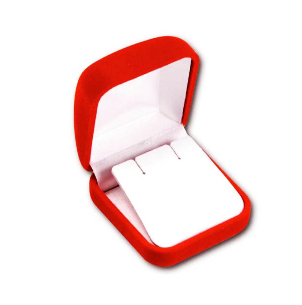 Velour Large Earring Box