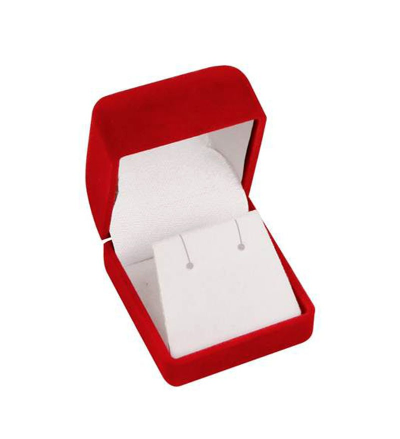 Velour Earring Box