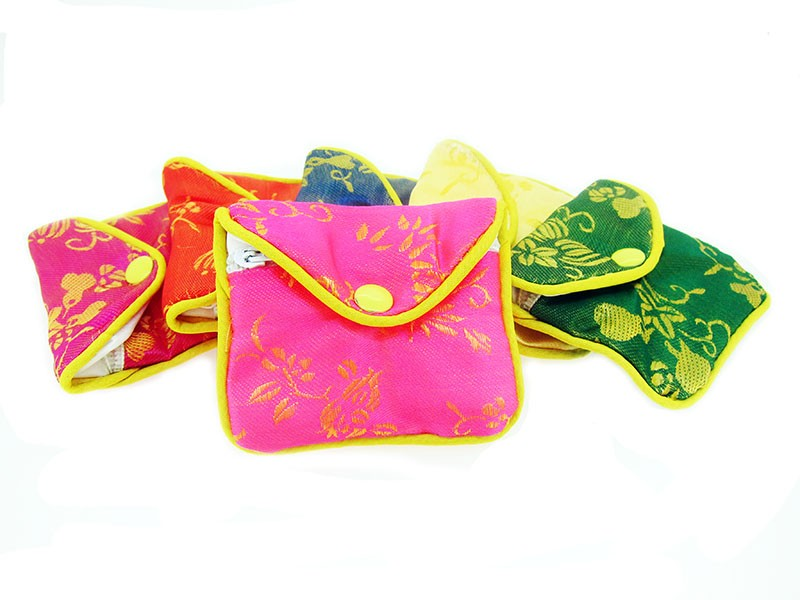 Chinese Silk Pouch