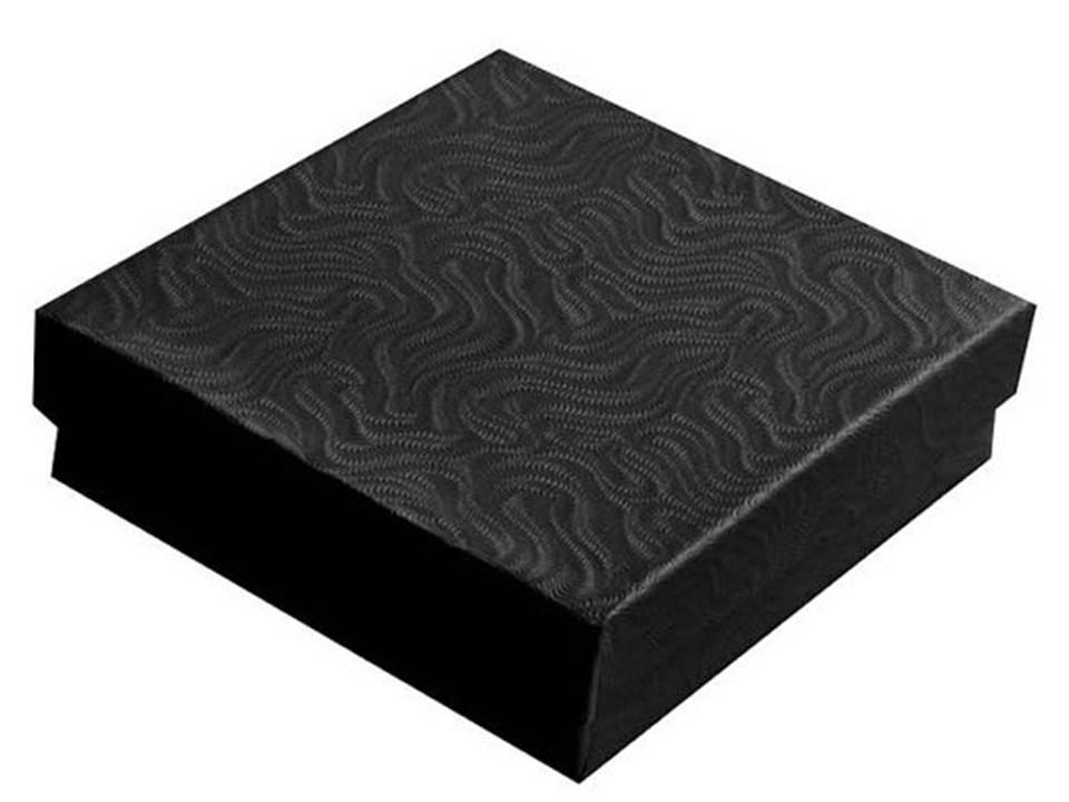Black Swirl Cotton Filled Box