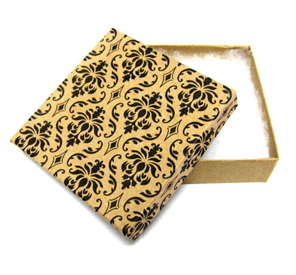 Damask Cotton Filled Box