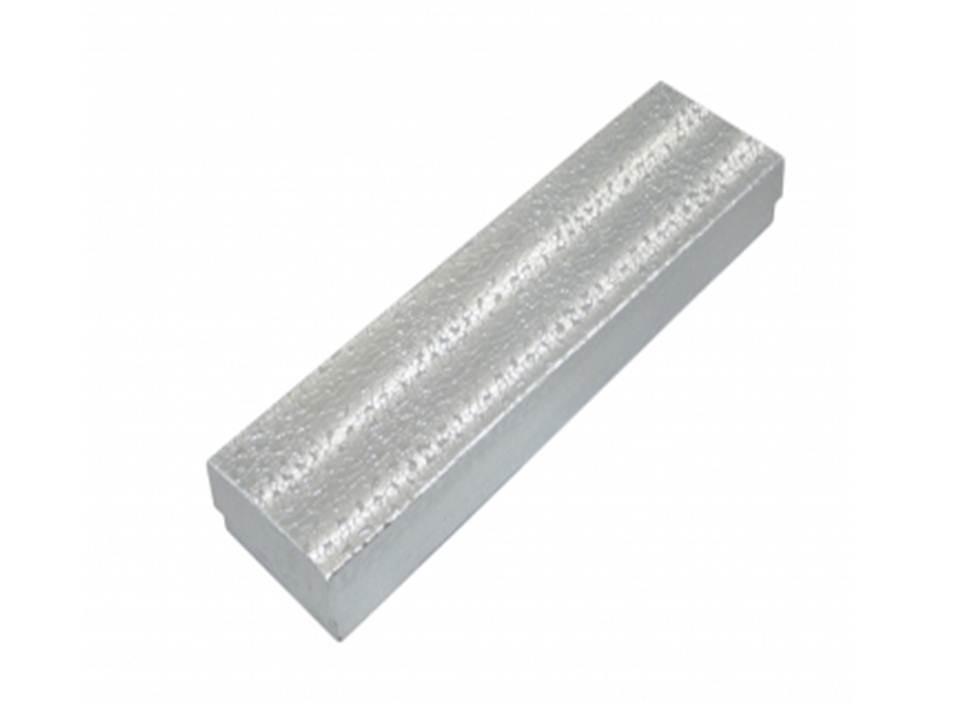 Silver Foil Cotton Filled Box