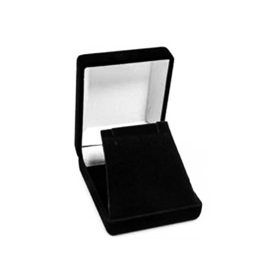 Velour Pendant/Earring Box
