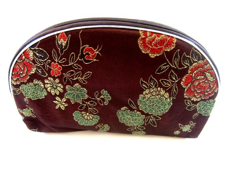 Chinese Silk Zipper Pouches/Dior