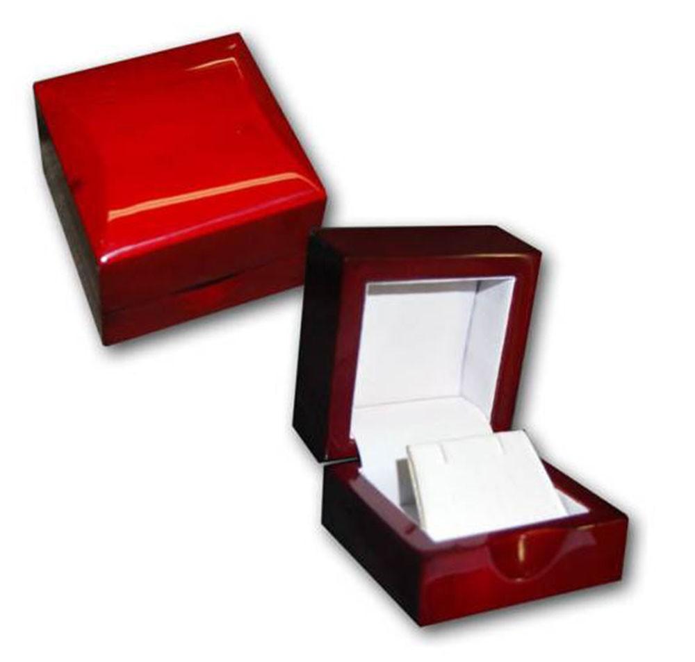 Wood Earring Box