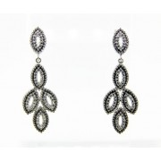 Silver Earring with CZ