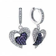 Silver Earring With Color