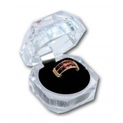 Crystal Clear Ring Box