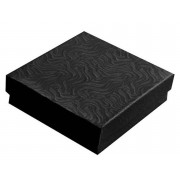 Black Swirl Cotton Filled Box