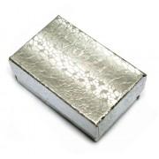 Silver Cotton Filled Box