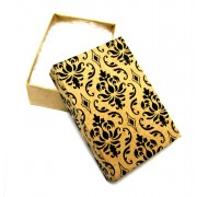 Damask Cotton Filled Box