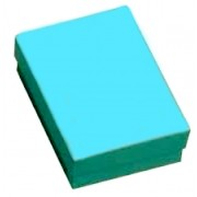 Teal Blue Cotton Filled Boxes